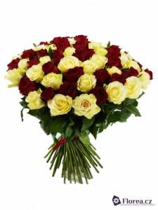 Kytice růží - 100 růží