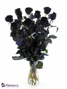 Černá růže - kytice