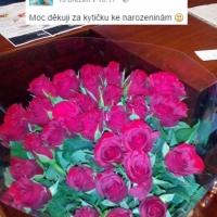 Spokojení zákazníci - rozvoz růží