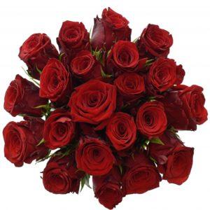 Kytice - Kytice 21 rudých růží INCREDIBLE 50cm