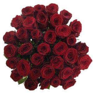 Kytice - Kytice 55 rudých růží RED NAOMI! 50cm